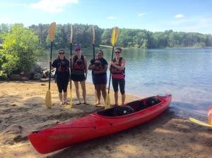 Kayaking 1 June 2016