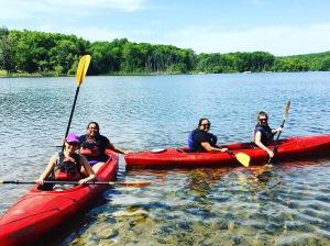 Kayaking 3 June 2016